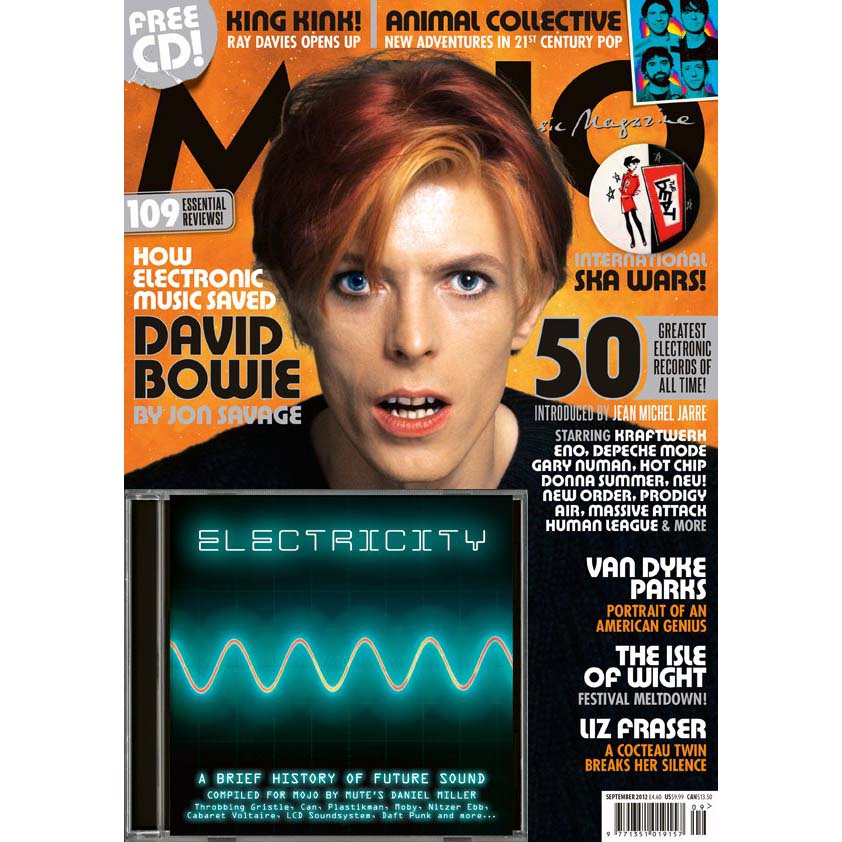 Mojo Magazine Issue 226 (September 2012) - David Bowie
