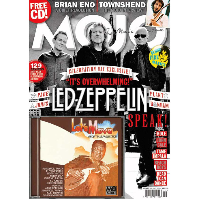 Mojo Magazine Issue 229 (December 2012) - Led Zeppelin