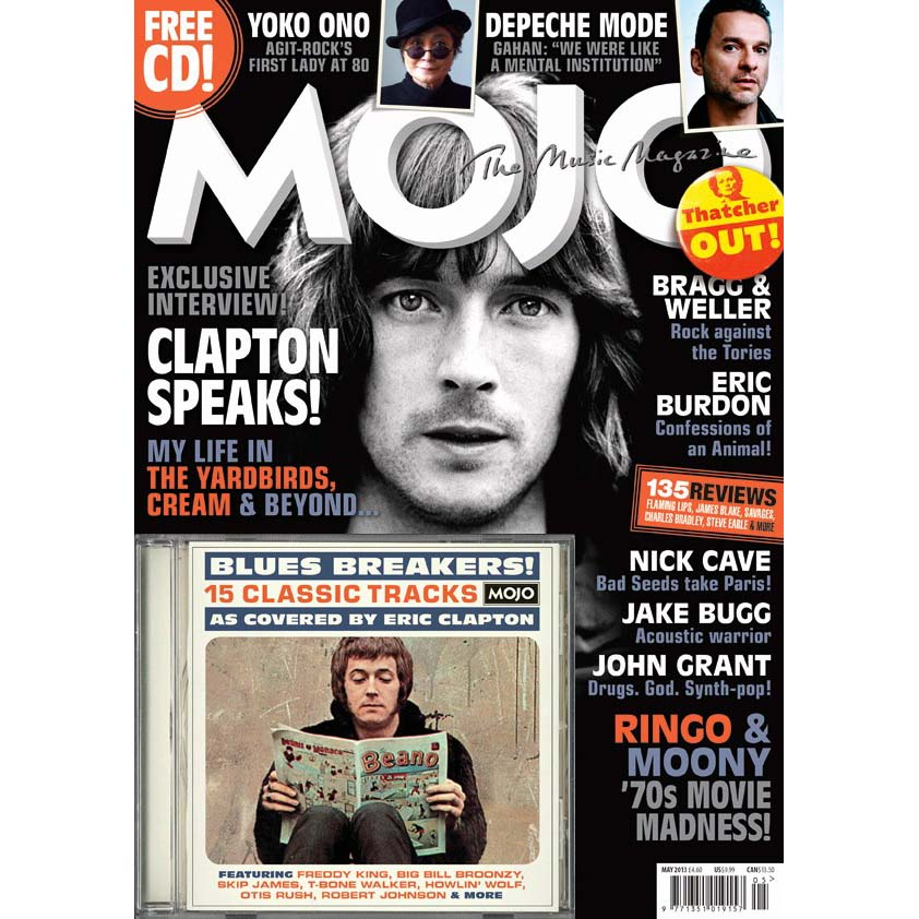 Mojo Magazine Issue 234 (May 2013) - Eric Clapton