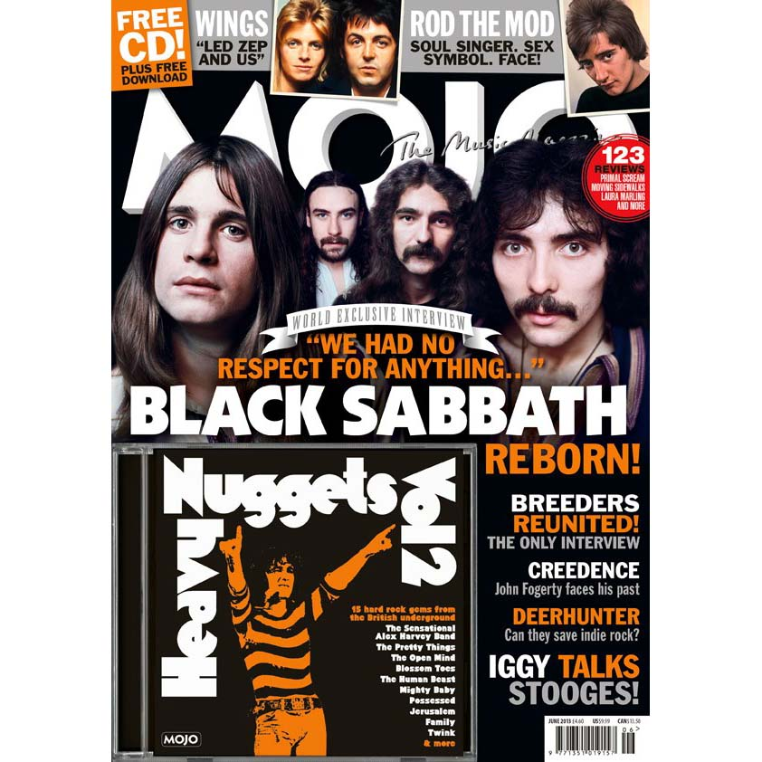 Mojo Magazine Issue 235 (June 2013) - Black Sabbath
