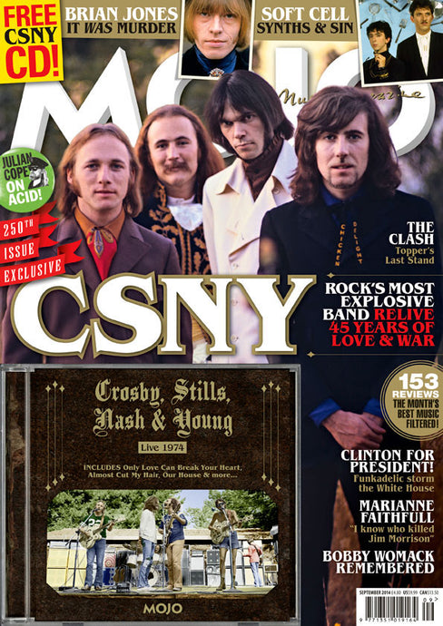 Mojo Magazine Issue 250 (September 2014) - CSNY
