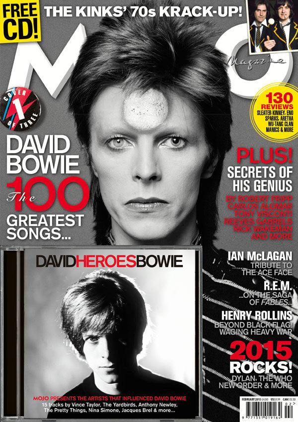 Mojo Magazine Issue 255 (February 2015)