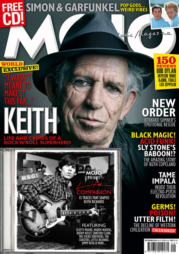 Mojo Magazine Issue 262 (September 2015)