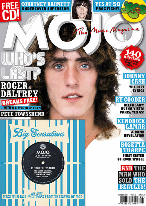 Mojo Magazine Issue 294 (May 2018)