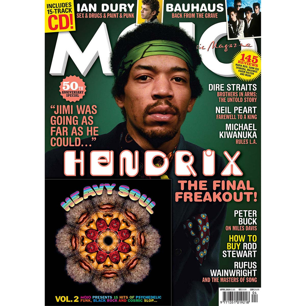 Mojo Magazine Issue 317 (April 2020) - Jimi Hendrix