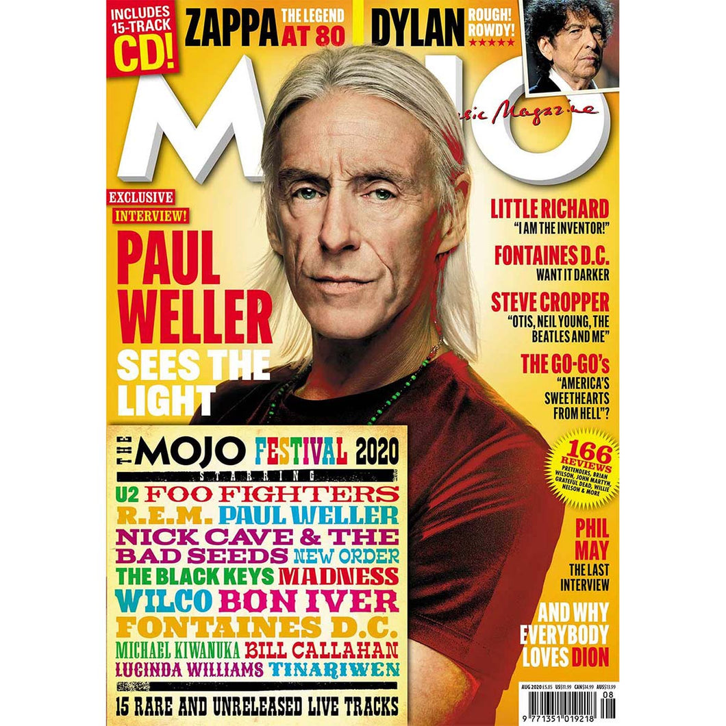 Mojo Magazine Issue 321 (August 2020) - Paul Weller