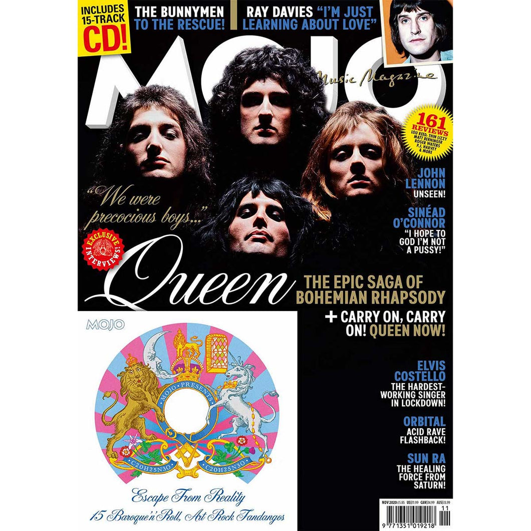 Mojo Magazine Issue 324 (September 2020) - Queen