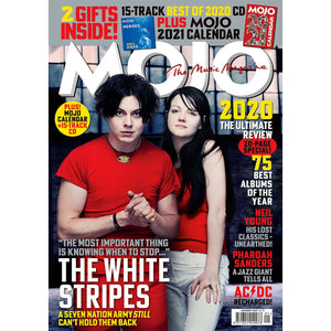 Mojo Magazine Issue 326 (January 2021) White Stripes