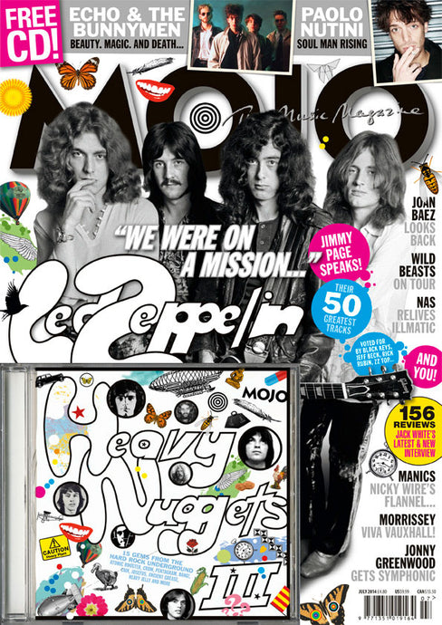 Mojo Magazine Issue 248 (July 2014) - Led Zeppelin