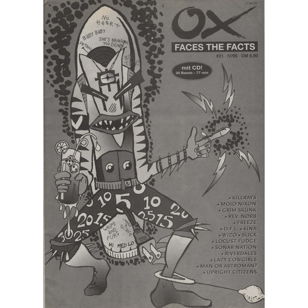 Ox Faces the Facts Issue 21, IV/95