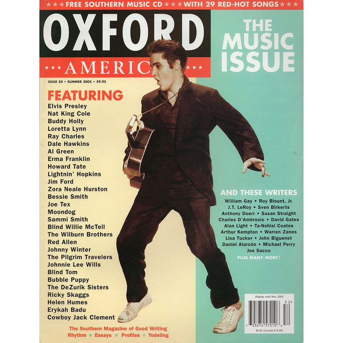 Oxford America Issue 50 (Summer 2005) - The Music Issue