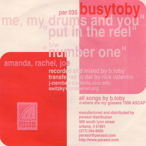Busytoby - Me, My Drums And You (Par-035)