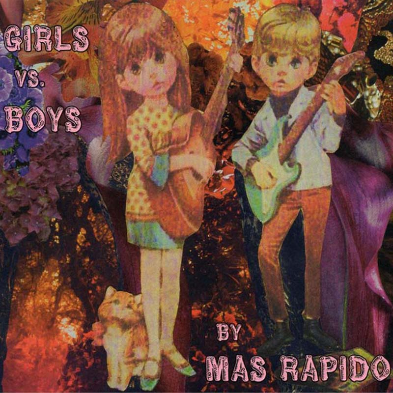 Mas Rapido - Girls vs Boys (Par-CD-122)