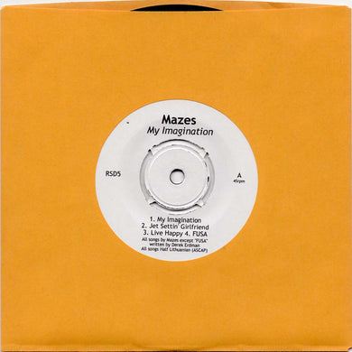 Mazes - Mazes Messes' (with My Imagination) (Par-RSD-005)