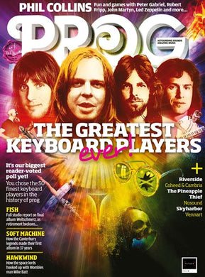 Prog Magazine Issue 091 (September 2018) - The Greatest Keyboard Players Ever