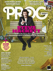 Prog Magazine Issue 094 (January 2019) - Steve Hackett