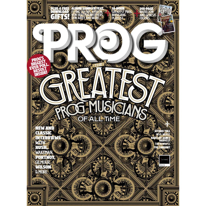 Prog Magazine Issue 113 (October 2020) The Greatest Prog Musicians of All Time