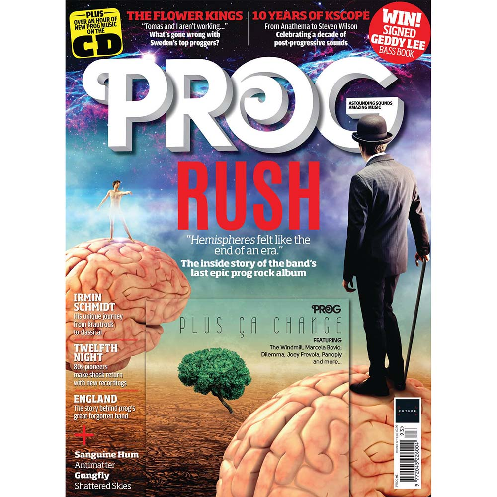 Prog Magazine Issue 093 (December 2018) - Rush