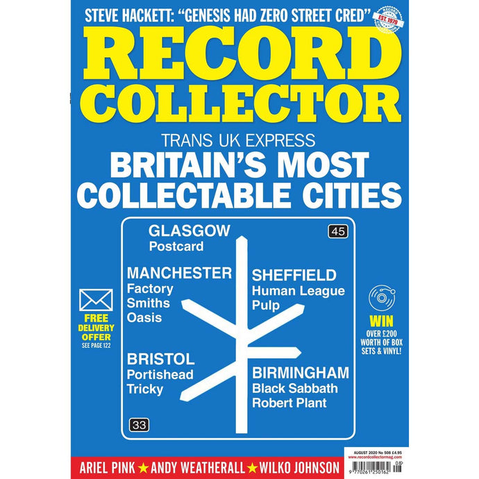 Record Collector Issue 508 (August 2020) - Britain's Most Collectable Cities
