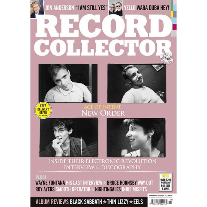 Record Collector Issue 511 (November 2020) - New Order: Age of Intent