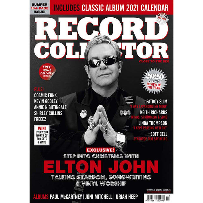 Record Collector Issue 513 (Christmas 2020) - Elton John