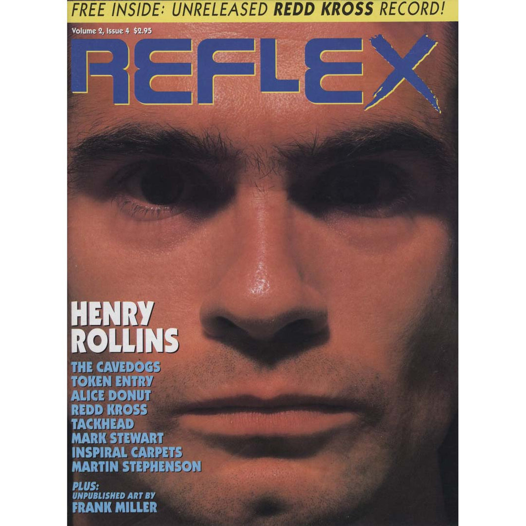 Reflex Vol. 2 Issue 4, 1991 (Henry Rollins)
