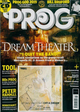 Prog Magazine Issue 101 (September 2019) - Dream Theater
