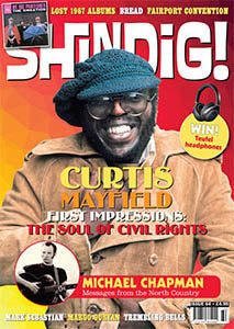 Shindig! Magazine Issue 064 (February 2017) - Curtis Mayfield