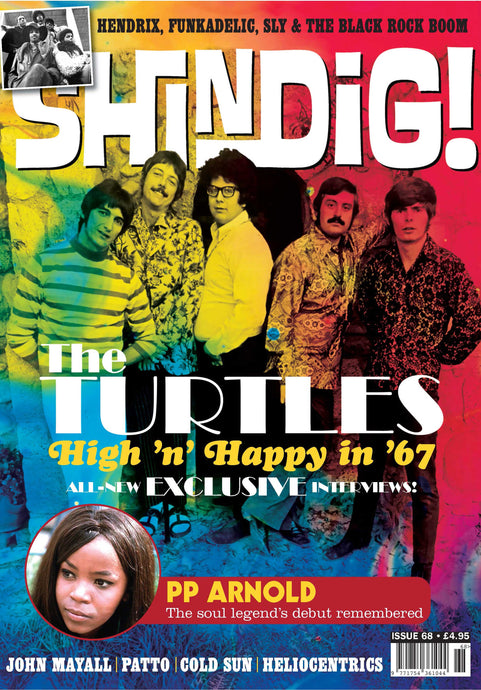 Shindig! Magazine Issue 068 (June 2017) - The Turtles
