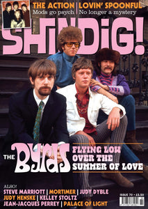 Shindig! Magazine Issue 070 (August 2017) - The Byrds