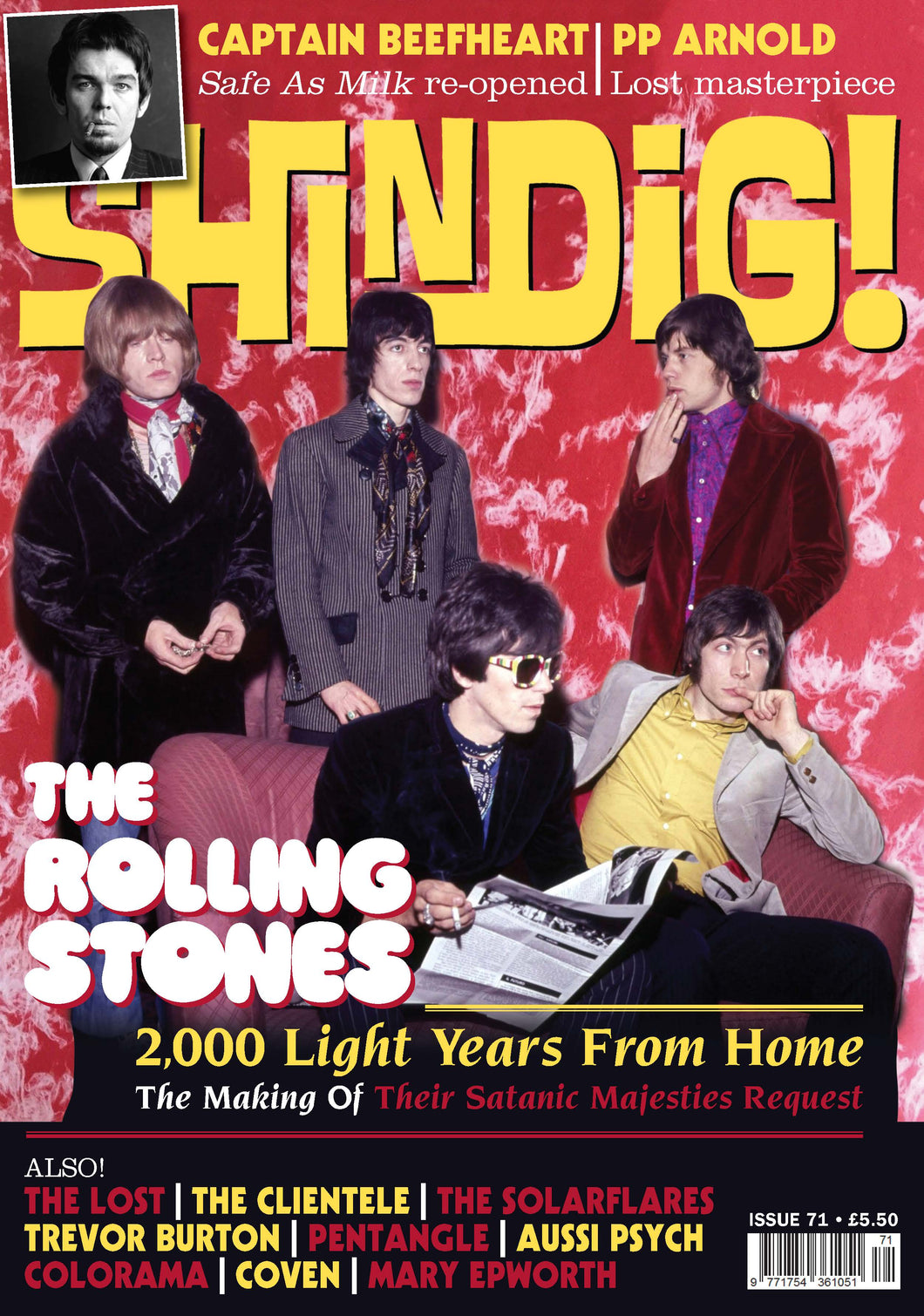 Shindig! Magazine Issue 071 (September 2017) - Rolling Stones