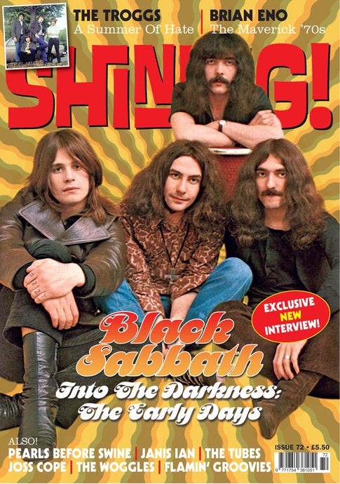 Shindig! Magazine Issue 072 (October 2017) - Black Sabbath