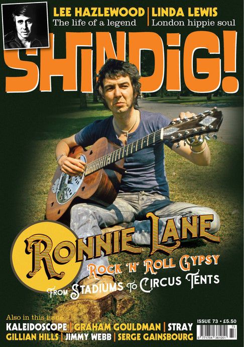 Shindig! Magazine Issue 073 (November 2017) - Ronnie Lane