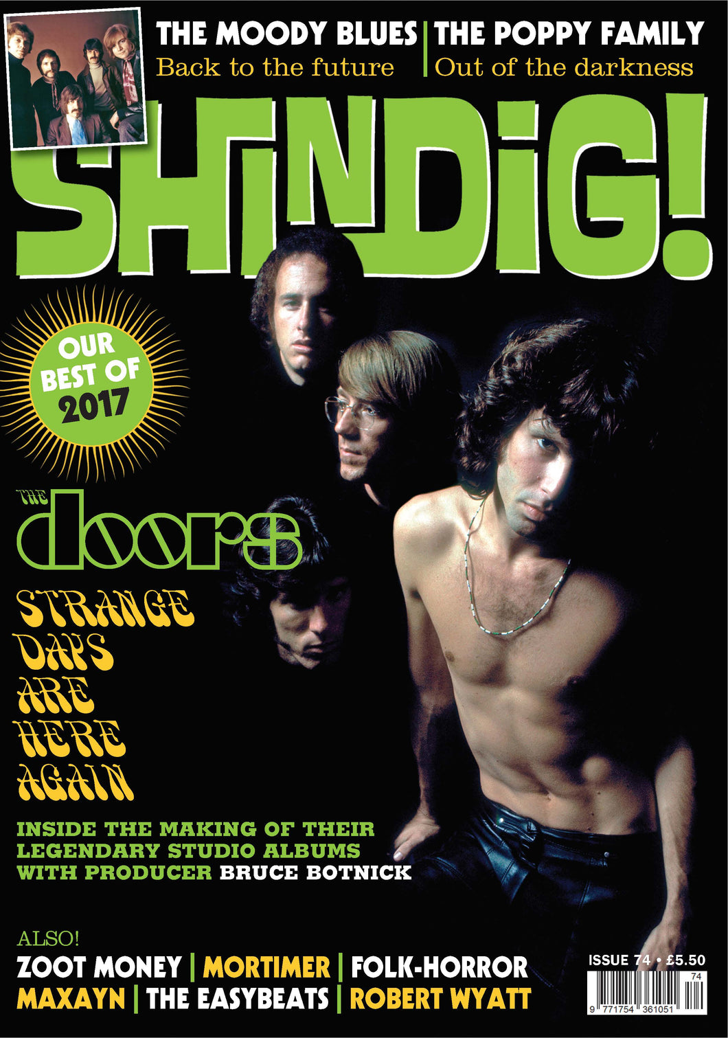 Shindig! Magazine Issue 074 (December 2017) - The Doors