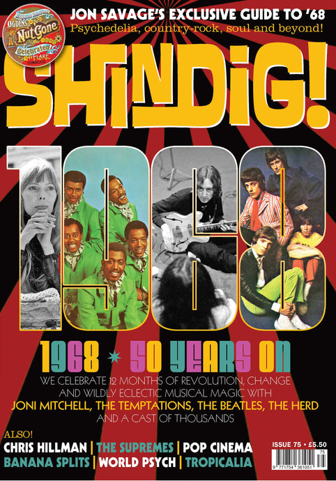 Shindig! Magazine Issue 075 (January 2018) - 1968 - 50 Years On