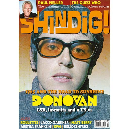 Shindig! Magazine Issue 084 (October 2018) - Donovan