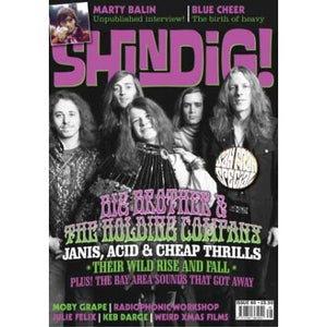 Shindig! Magazine Issue 086 (December 2018) - Big Brother & the Holding Company