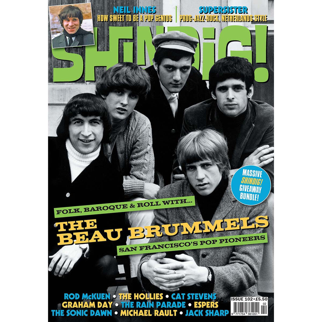 Shindig! Magazine Issue 102 (April 2020) - Beau Brummels