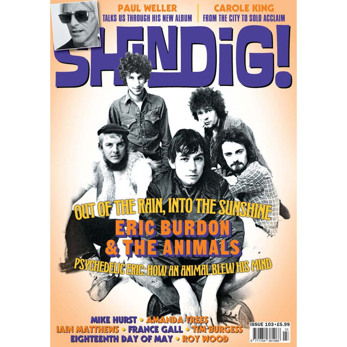 Shindig! Magazine Issue 103 (May 2020) - Eric Burdon & the Animals