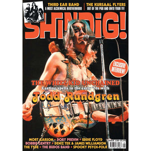 Shindig! Magazine Issue 108 (October 2020) - Todd Rundgren