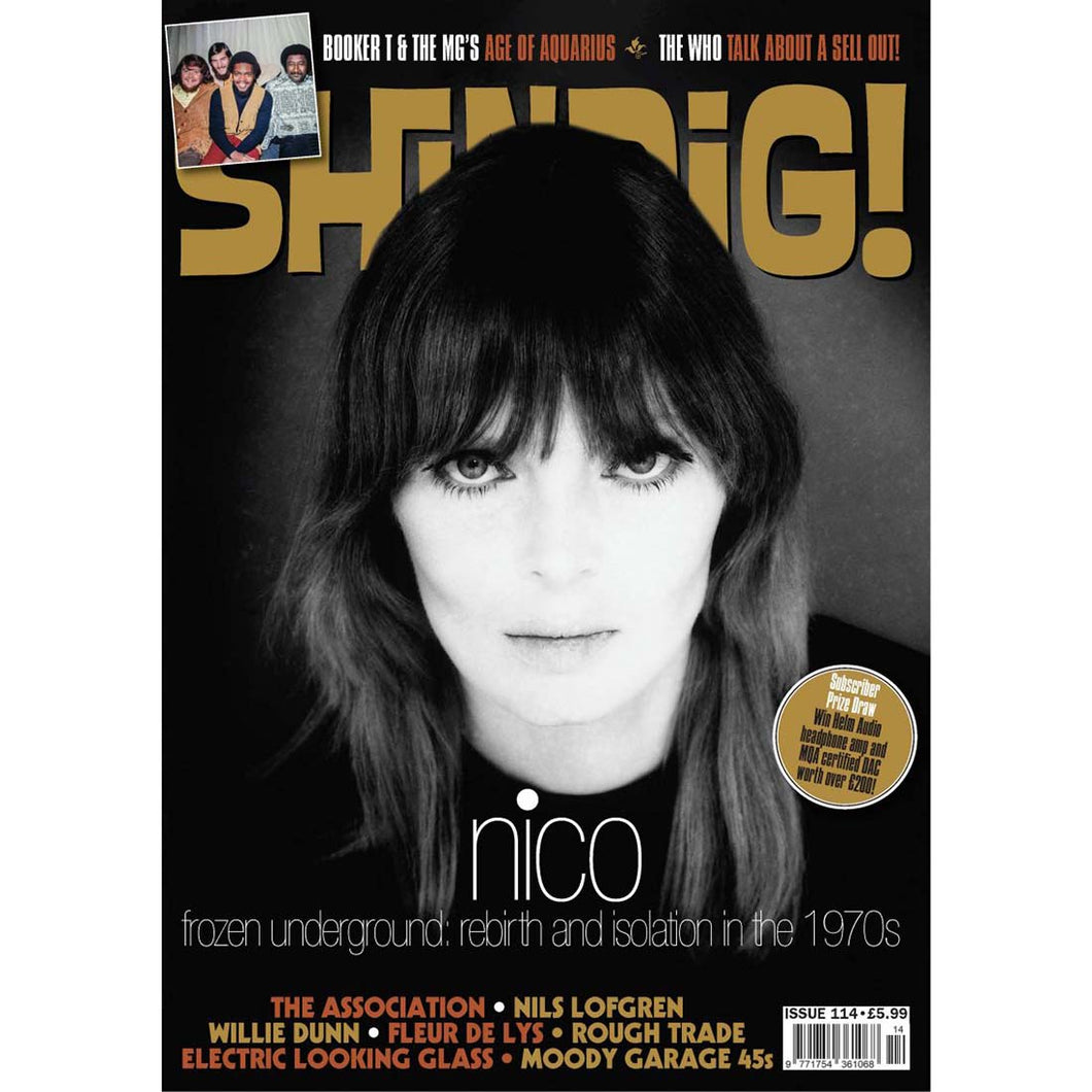 Shindig! Magazine Issue 114 (April 2021) Nico