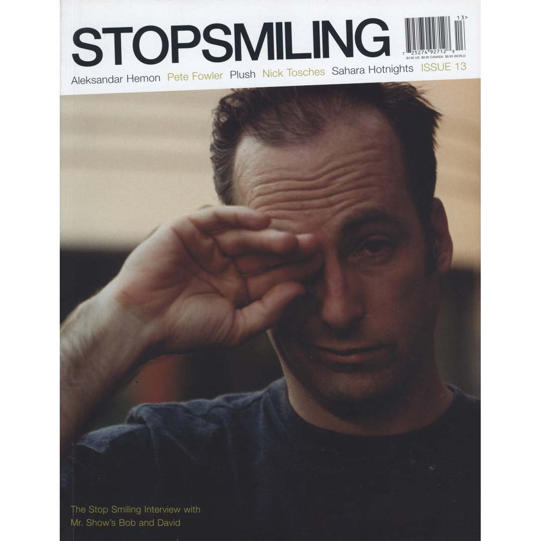 Stop Smiling Magazine Issue 13 (2003)