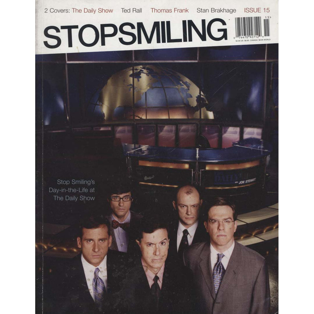 Stop Smiling Magazine Issue 15 (2003) (Daily Show)
