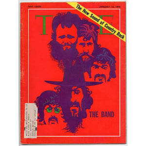 Time Magazine - The Band (January 12, 1970)