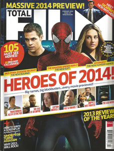 Total Film Issue 215 (February 2014) Heroes of 2014!