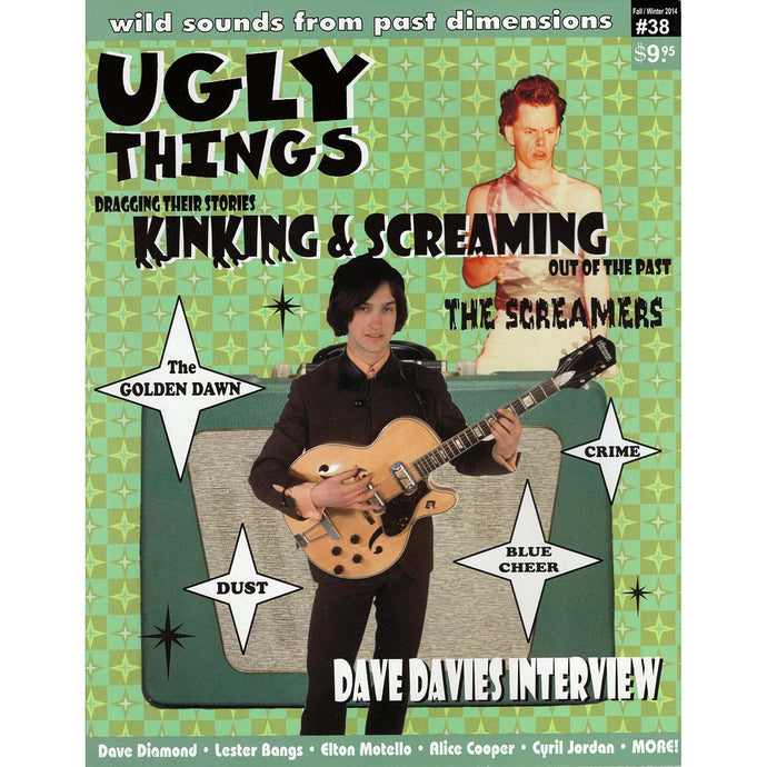 Ugly Things Issue 38 (Fall/Winter 2014)
