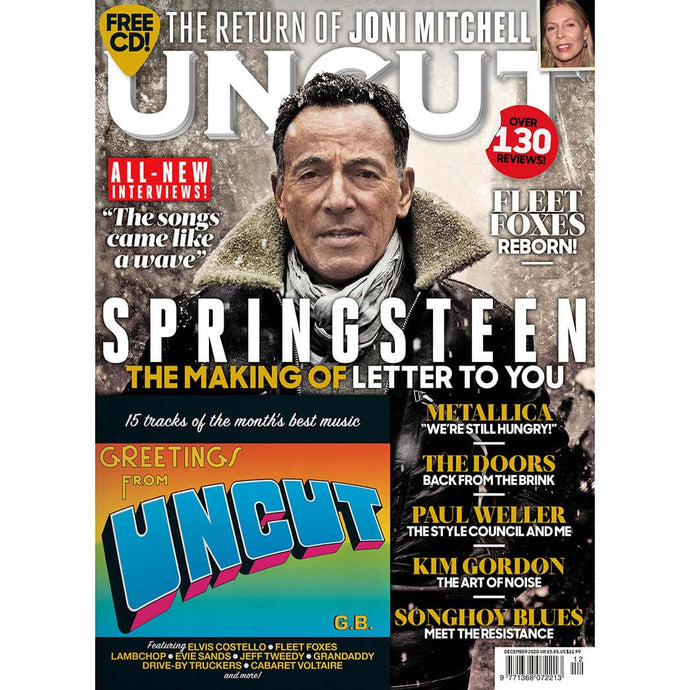 Uncut Magazine 283 (December 2020) - Bruce Springsteen