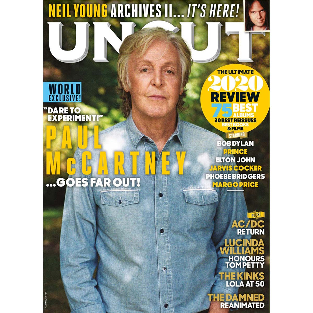 Uncut Magazine 284 (January 2021) Paul McCartney