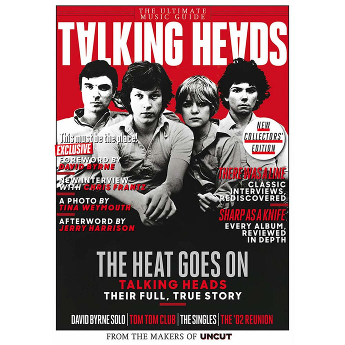 Uncut Ultimate Music Guide: Talking Heads (November 2020)