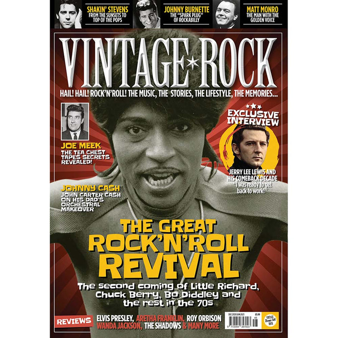 Vintage Rock Issue 48 (December 2020/January 2021)